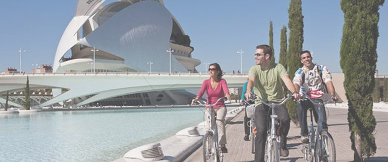 bike tour por Valencia