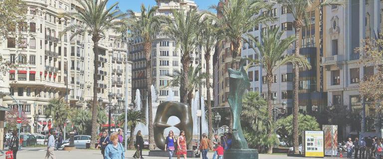Hoteles en Valencia centro